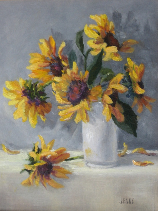 Sunflowers 8''x10''